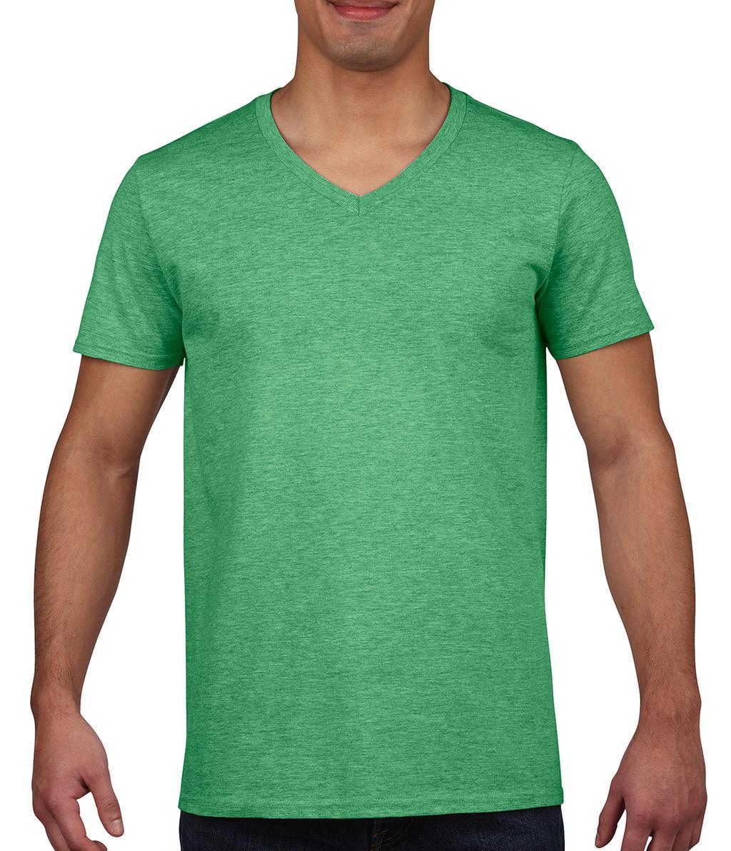 Gildan soft style v neck t shirt shirt s xxl in mehreren for Gildan t shirt styles