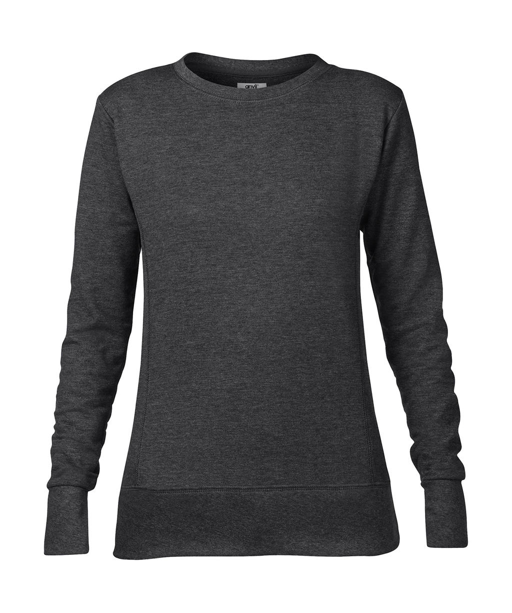 Anvil-Sweatshirt-Sweat-Shirt-Pullover-French-Terry-DAMEN-S-M-L-XL-XXL-NEU