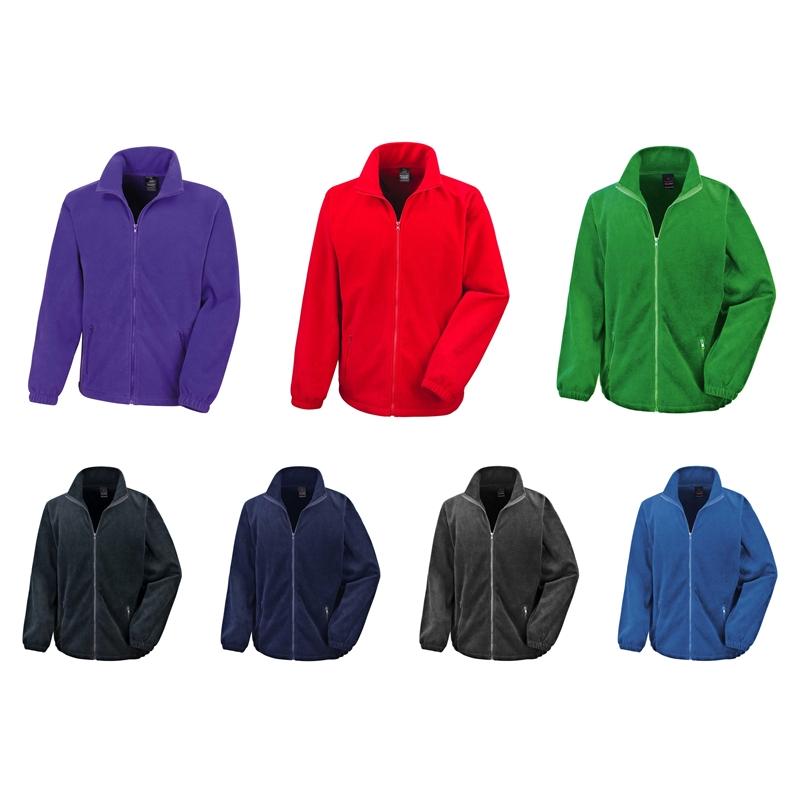 Result Core | R220M Herren Fashion Fit Outdoor Fleece Jacke