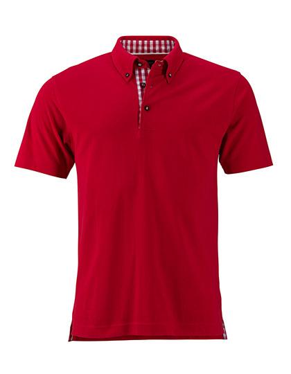 james nicholson polo shirt poloshirt karo herren s m l xl. Black Bedroom Furniture Sets. Home Design Ideas