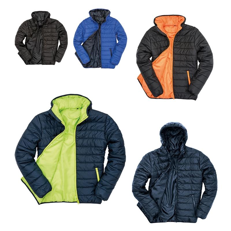 Details zu RESULT Winterjacke Herren Steppjacke wasserabweisend Jacke warm R233M NEU