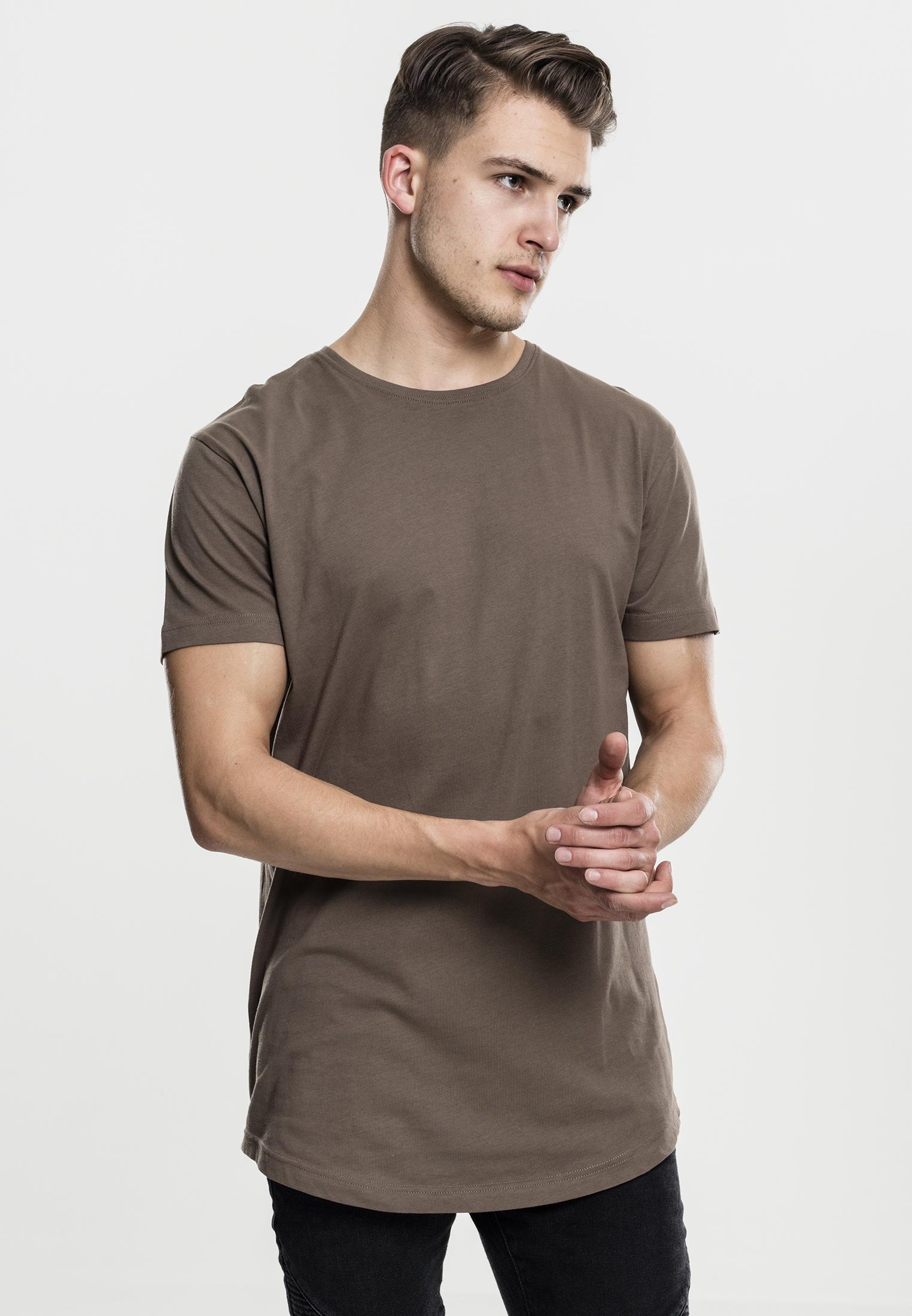 81e058ca6c3b Urban Classics Herren T-Shirt extra lang long Shirt shaped TB638 ...